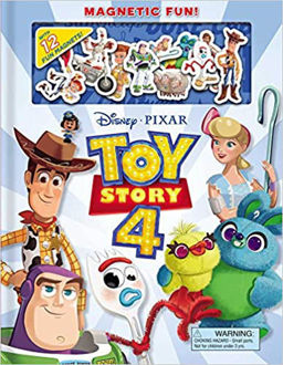 Picture of Disney/Pixar Toy Story 4 Magnetic Fun! (Magnetic Hardcover)