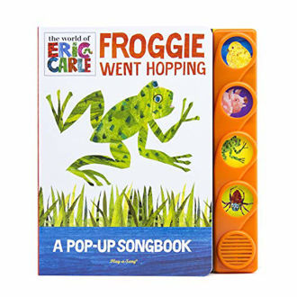 Picture of Eric Carle - Froggie Went Hopping, A Pop Up Song Book