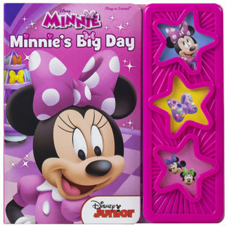Picture of Disney - Minnie's Big Day 3-Button Star Sound Book - Play-a-Sound - PI Kids Board boo