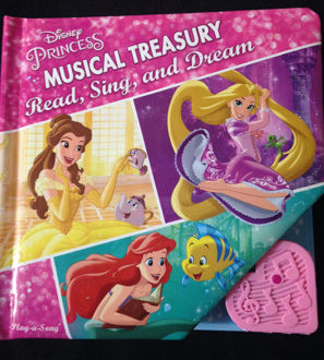 Picture of Disney Princess Musical Treasury Read, Sing and Dream