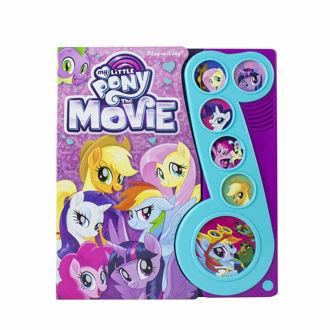 Picture of My Little Pony The Movie Little Music Note Sound Book