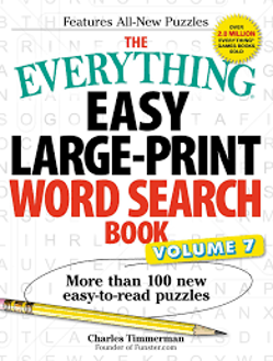 Picture of The Everything Easy Large-Print Word Search Book, Volume 7: More Than 100 New Easy-to-read Puzzles