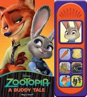Picture of Disney Zootopia - A Buddy Tale Little Sound - Play-a-Sound - PI Kids