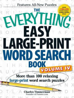 Picture of The Everything Easy Large-Print Word Search Book, Volume IV