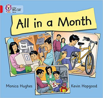 Picture of All in a Month (Collins Big Cat) Paperback