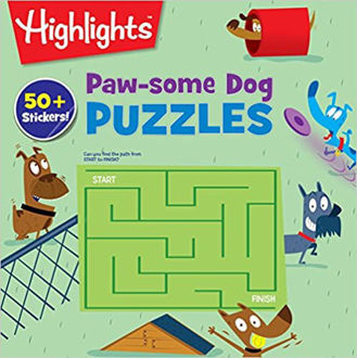 Picture of Paw-some Dog Puzzles (Highlights Puzzle Activity Fun) Paperback