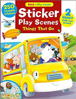 Picture of Sticker Play Scenes: Things that Go: 250 Reusable Stickers, 2 Giant fold-out scenes (1) (Stick * Play * Learn) Paperback