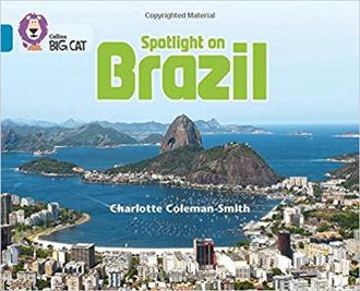 Picture of Collins Big Cat ― Spotlight On Brazil: Band 13/Topaz Paperback