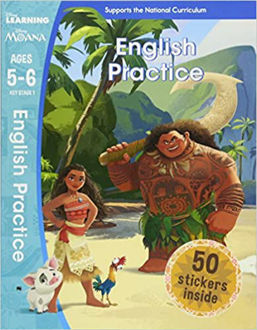 Picture of Moana - English Practice (Ages 5-6) (Disney Learning) 1st Edition