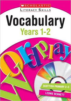 Picture of Vocabulary: Years 1-2 (New Scholastic Literacy Skills) Paperback