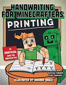 Picture of Handwriting for Minecrafters: Printing Paperback