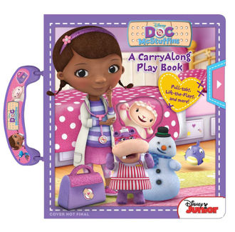 Picture of Disney Doc McStuffins: A CarryAlong Play Book (Carry Along Books)