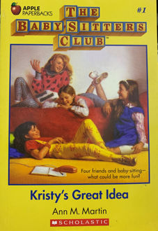 Picture of Kristy's great Idea (The Baby-Sitters Club, #1)