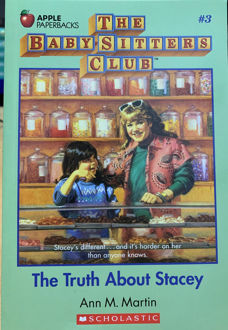 Picture of The Truth About Stacey  (The Baby-Sitters Club, #3)