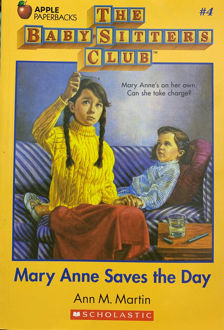 Picture of Mary Anne Saves the Day (The Baby-Sitters Club, #4)