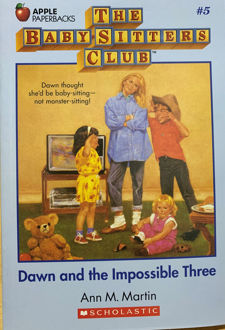 Picture of Dawn and the Impossible Three (The Baby-Sitters Club, #5)