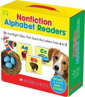 Picture of Nonfiction Alphabet Readers : 26 Just-Right Titles That Teach the Letters from A to Z