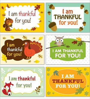Picture of Thanksgiving Postcards