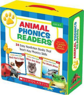 Picture of Animal Phonics Readers : 24 Easy Nonfiction Books That Teach Key Phonics Skills