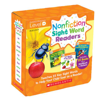 Picture of Nonfiction Sight Word Readers Parent Pack Level D