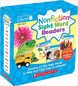 Picture of Nonfiction Sight Word Readers Parent Pack Level B