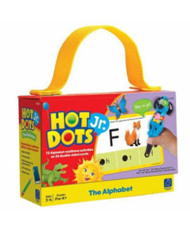 Picture of Hot Dots Jr The Alphabet Card Set