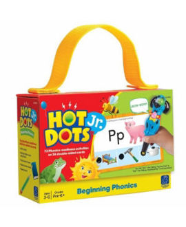 Picture of Hot Dots Jr.: Beginning Phonics