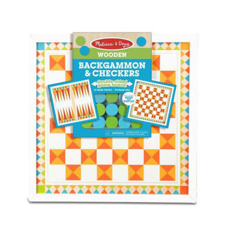 Picture of Wooden Backgammon & Checkers