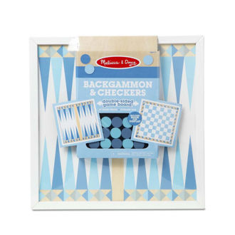 Picture of Backgammon & Checkers - Blue
