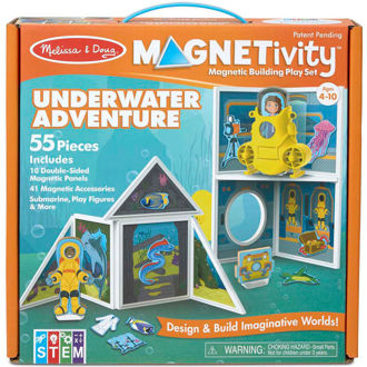 Picture of Magnetivity Magnetic Building Play Set - Underwater Adventure
