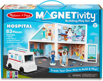Picture of Magnetivity Magnetic Building Play Set - Hospital