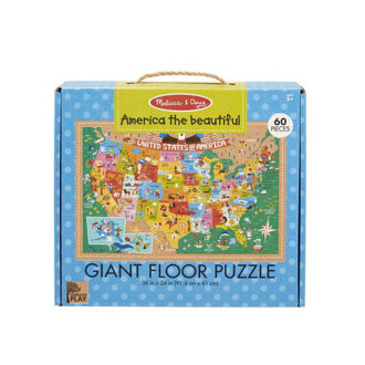 Picture of NP Giant Floor Puzzle - America the Beautiful