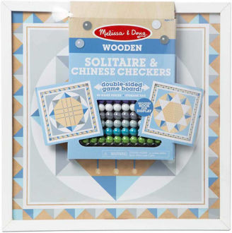 Picture of SOLITAIRE & CHINESE CHECKERS - BLUE