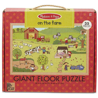 Picture of Giant Floor Puzzle On The Farm