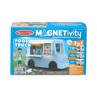 Picture of Magnetivity Magnetic Building Play Set- Food Truck