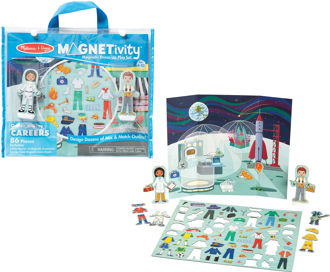 Picture of Magnetivity Magnetic Dress-Up Play Set - Dress & Play Careers