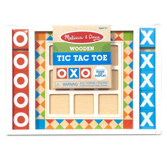 Picture of Wooden Tic Tac Toe