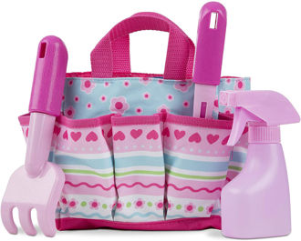 Picture of Sunny Patch Pretty Petals Gardening Tote Set with Tools