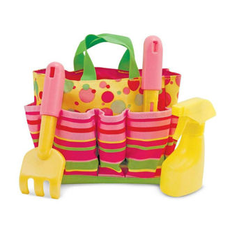 Picture of Sunny Patch Blossom Bright Gardening Tote Set with Tools