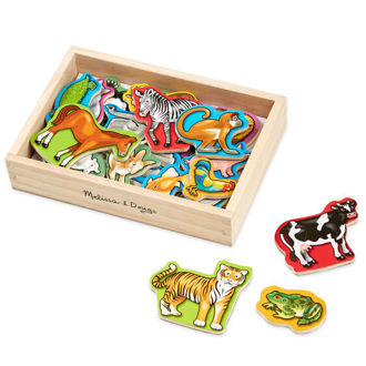 Picture of Wooden Animal Magnets