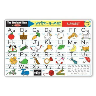 Picture of Write-a-mat alphabet