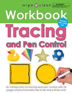 Picture of WIPE CLEAN WORKBOOK TRACING AND PEN