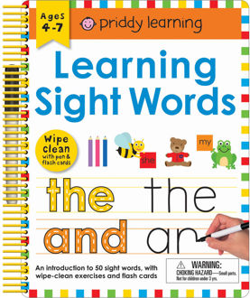 Picture of WIPE CLEAN/LEARNING SIGHT WORDS