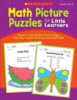 Picture of Math Picture Puzzles for Little Learners Paperback