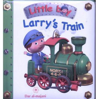 Picture of Little Boy-Larry's Train