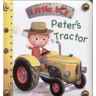 Picture of Little Boy-Peter's Tractor