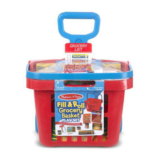 Picture of Fill & Roll Grocery Basket Play Set