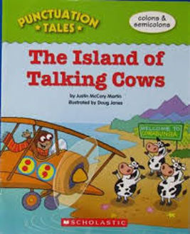 Picture of Punctuation Tales The Island of Talking Cows