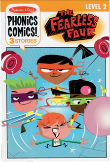 Picture of Phonics Comics!  The Fearless Four - Level 2