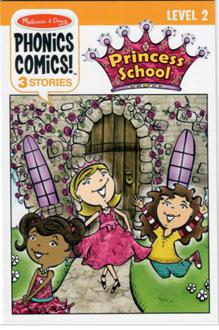 Picture of Phonics Comics! Princess School - Level 2